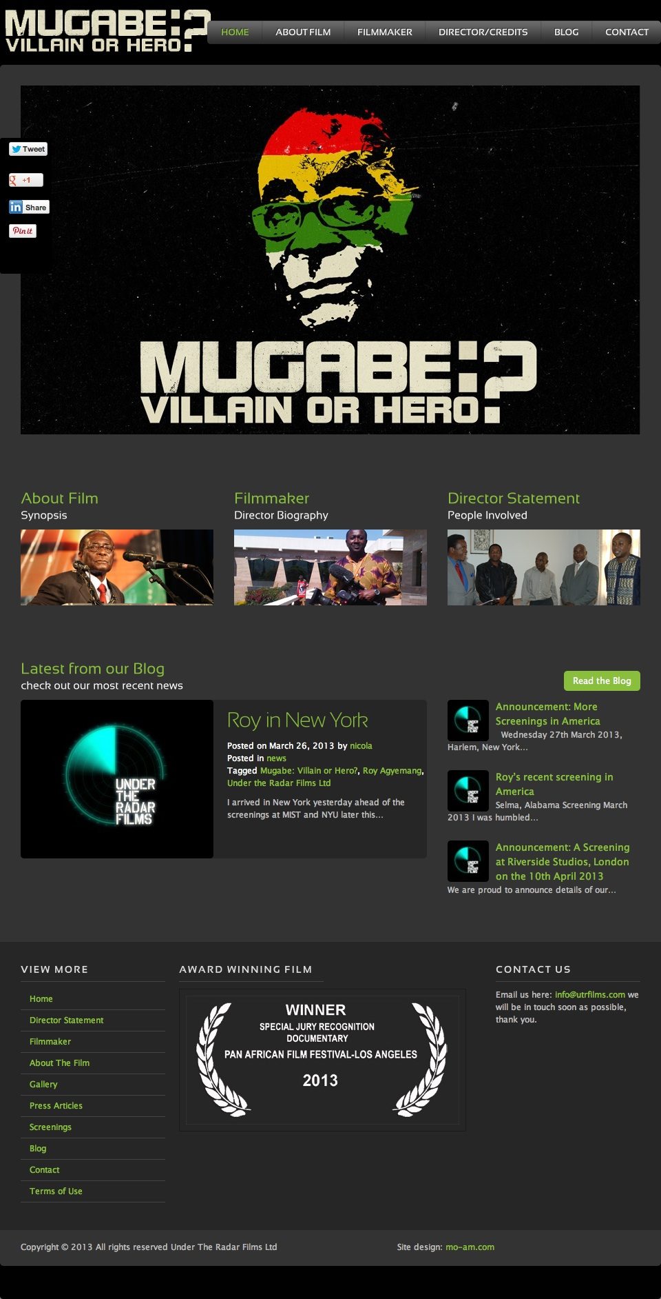 Mugabe Villain Or Hero Website